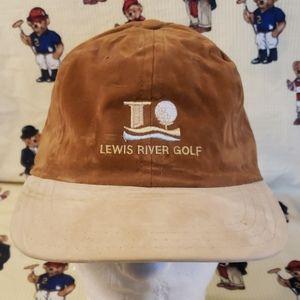 vintage lewis river golf hat